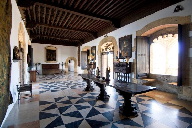 Inside the Alcazar de Colon (Columbus's son's house), Santo Domingo.
