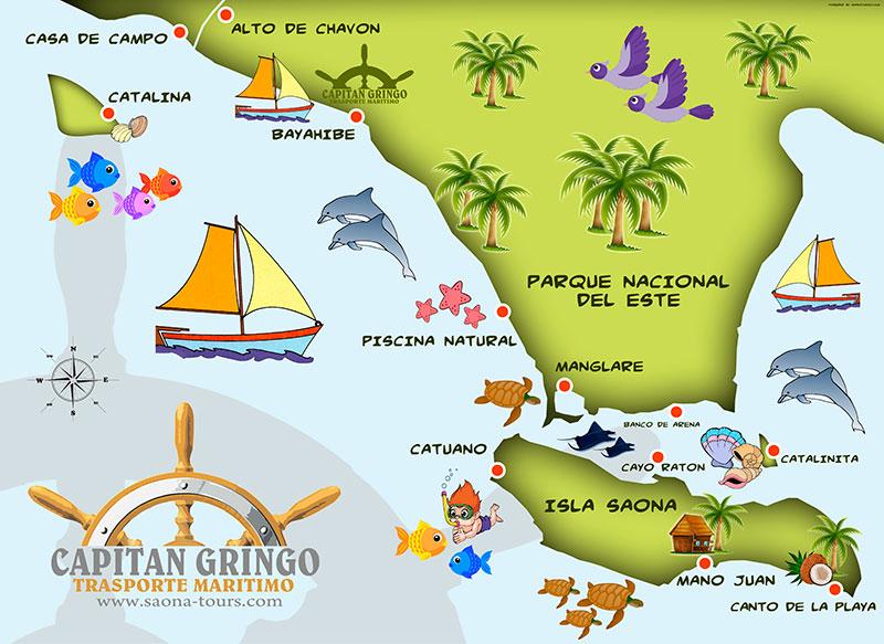 mapa-isla-saona-capitan-gringo